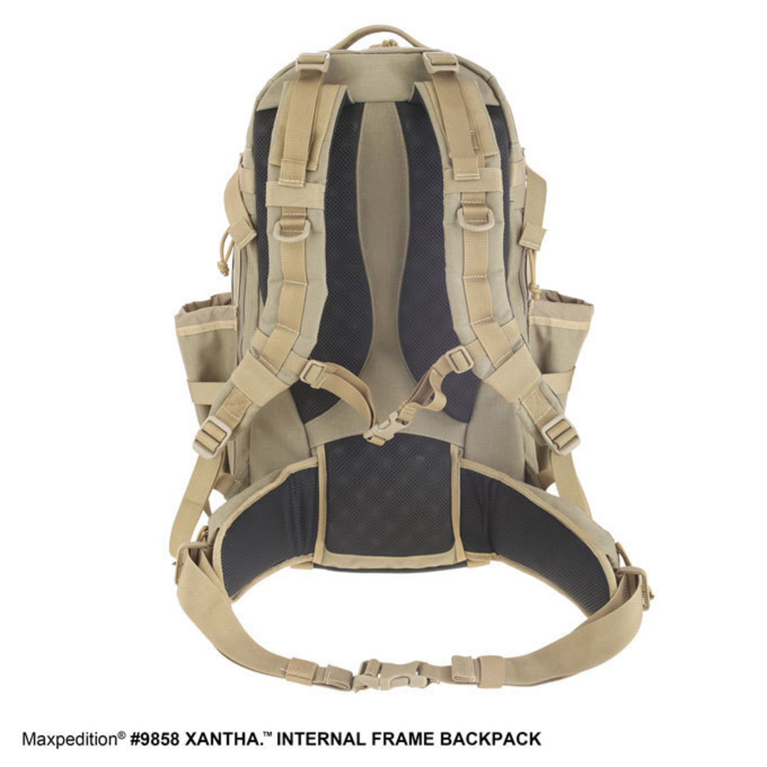 Maxpedition XANTHA INTERNAL FRAME BACKPACK (Large) - Khaki image 2