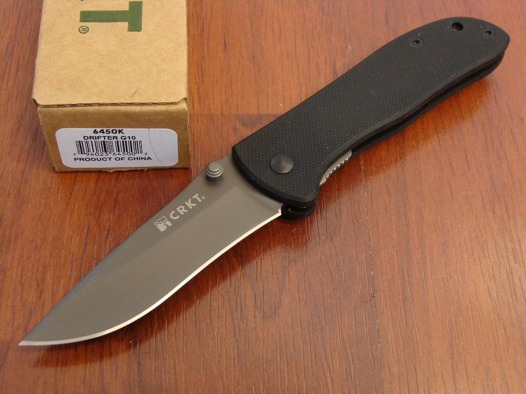 CRKT Drifter G10 Linerlock Folding Knife image 0