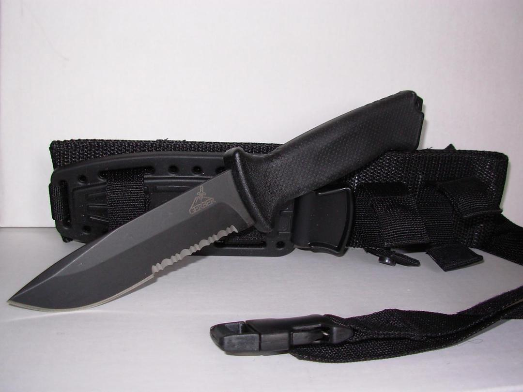Gerber Prodigy Survival Combat Knife No Box image 0