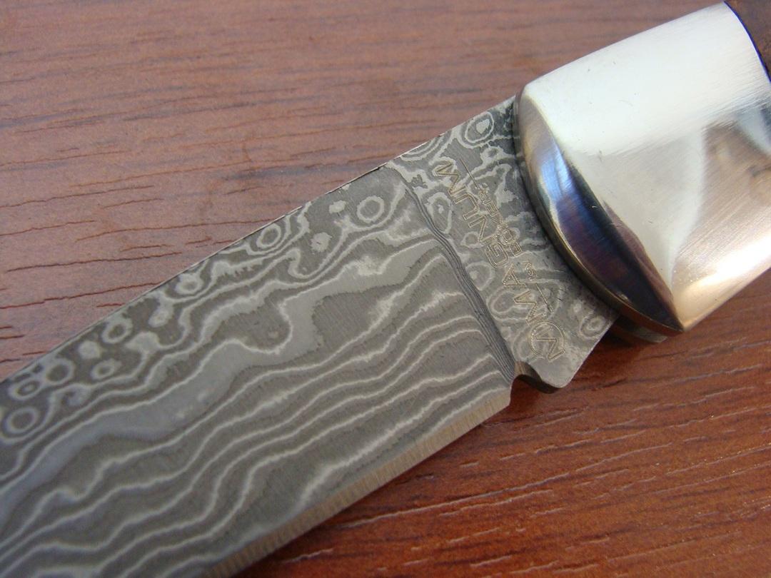 Boker Magnum Lord Damascus Folding Knife image 1