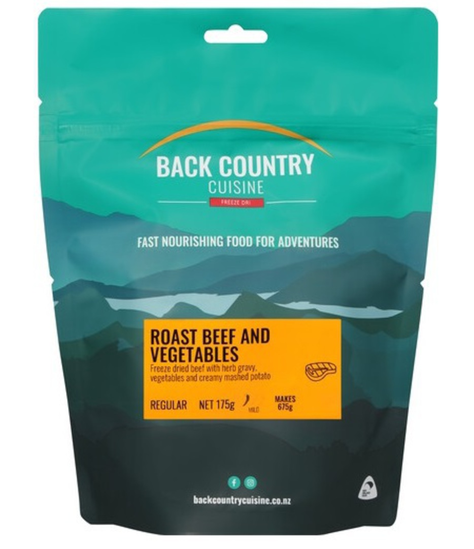 Back Country Cuisine Roast Beef and Vegetables 2 Serve/Regular image 0