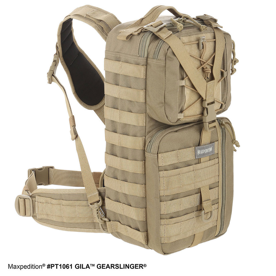 Maxpedition Gila™ Gearslinger - Black image 1