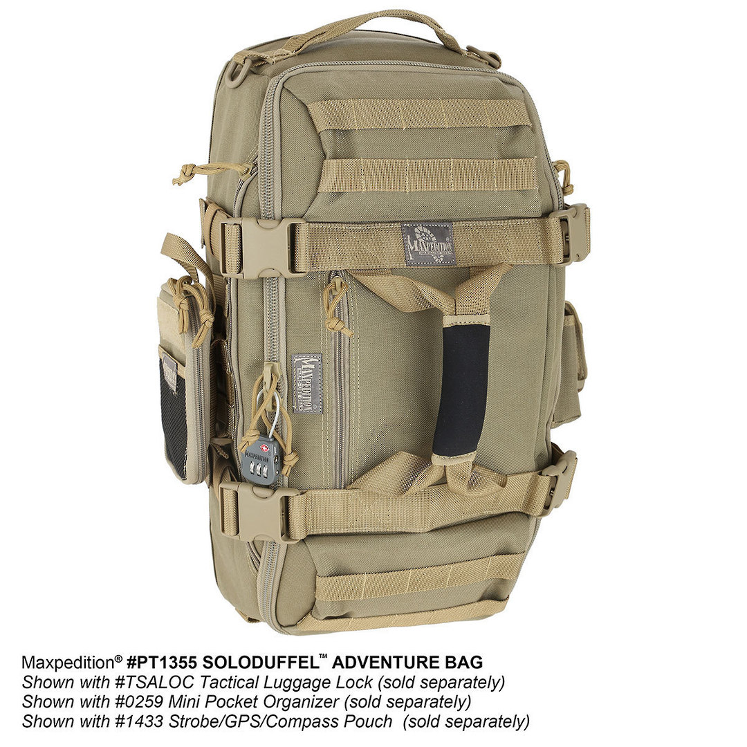 Maxpedition Soloduffe™ Adventure Bag - Khaki PT1355K image 10