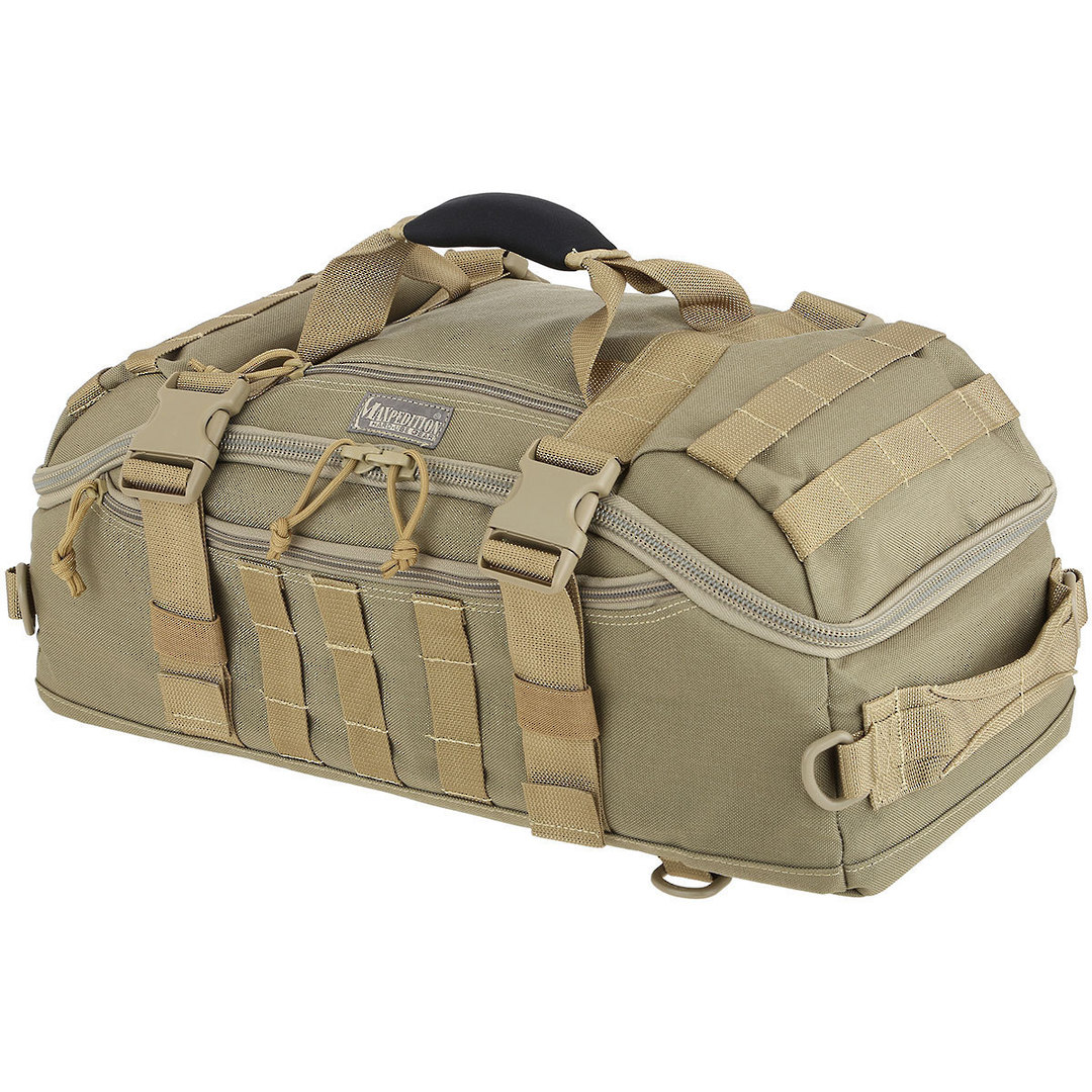 Maxpedition Soloduffe™ Adventure Bag - Khaki PT1355K image 0
