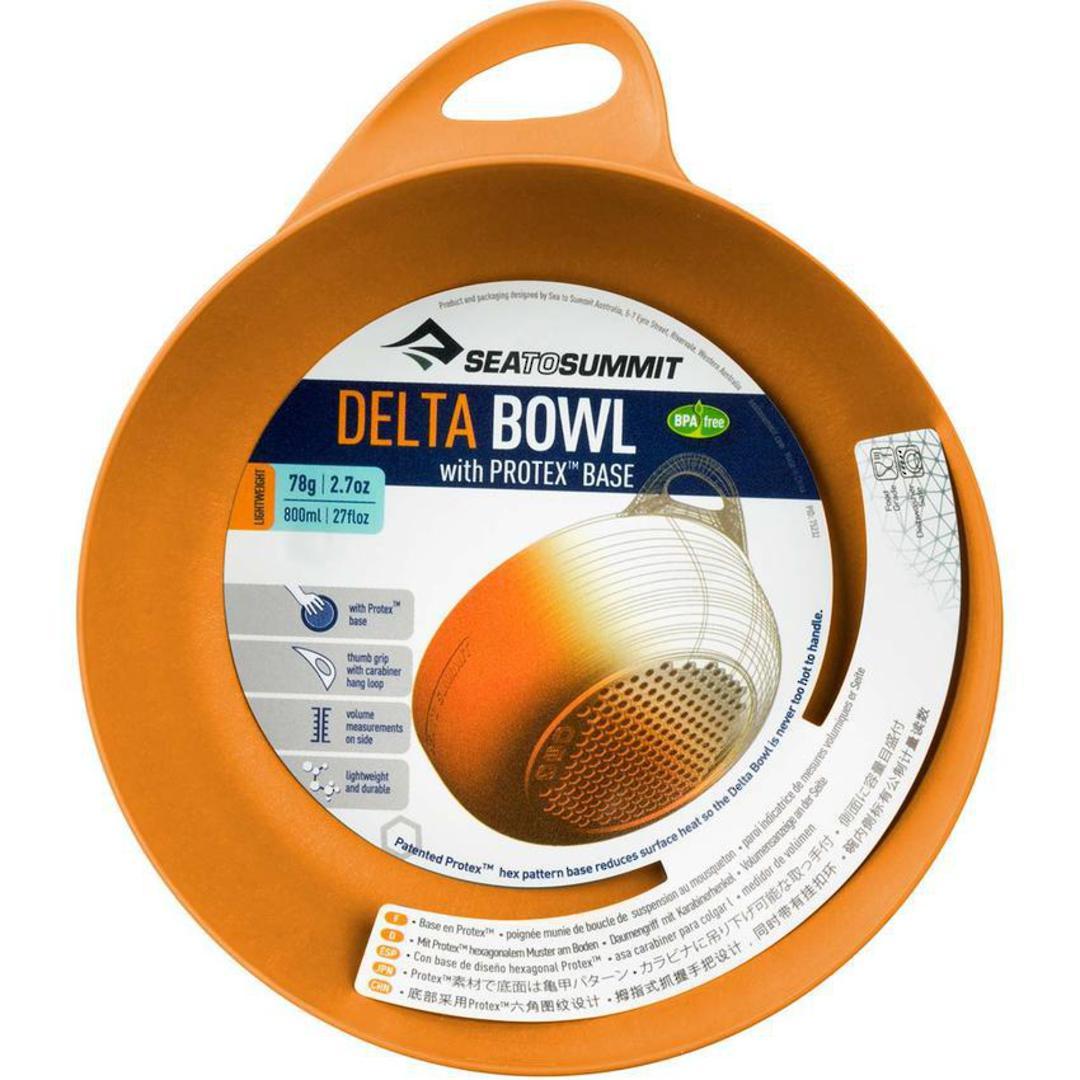Sea to Summit Delta Bowl- Orange image 0