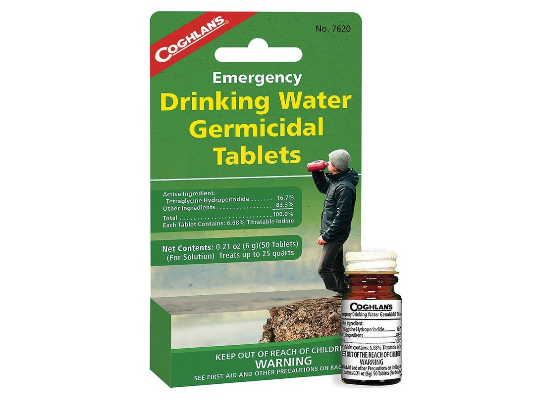 Coghlans Drinking Water Tablets image 0
