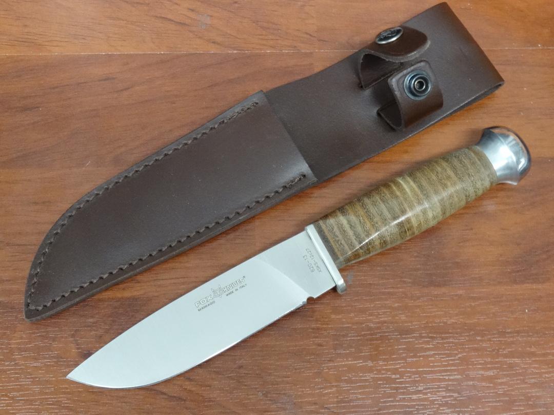 Fox Knives European Hunter Fixed Knife FX620/13 image 0