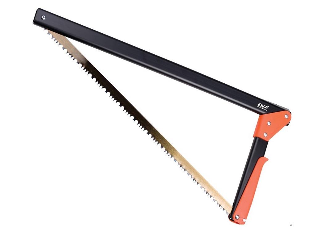 EKA Viking Combi Compact Saw 17 Inches Black w/Orange Handle image 0