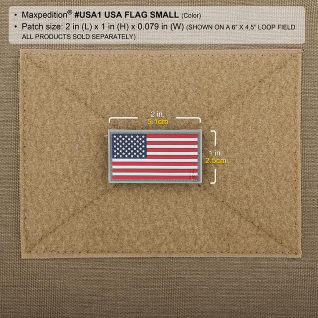 MAXPEDITION USA Flag Morale Patch (Small) image 2