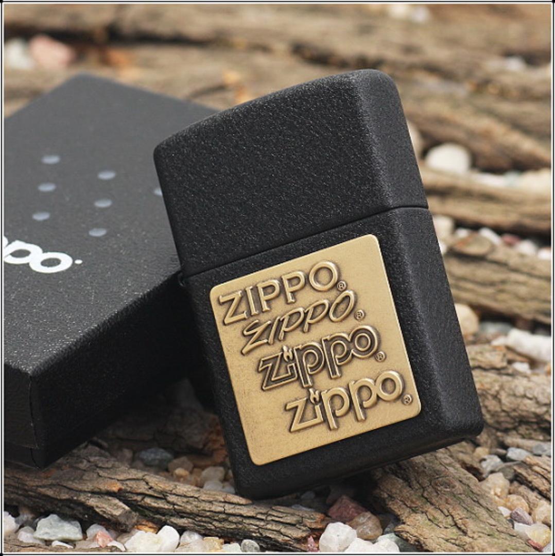 Zippo Brass Emblem Lighter image 0