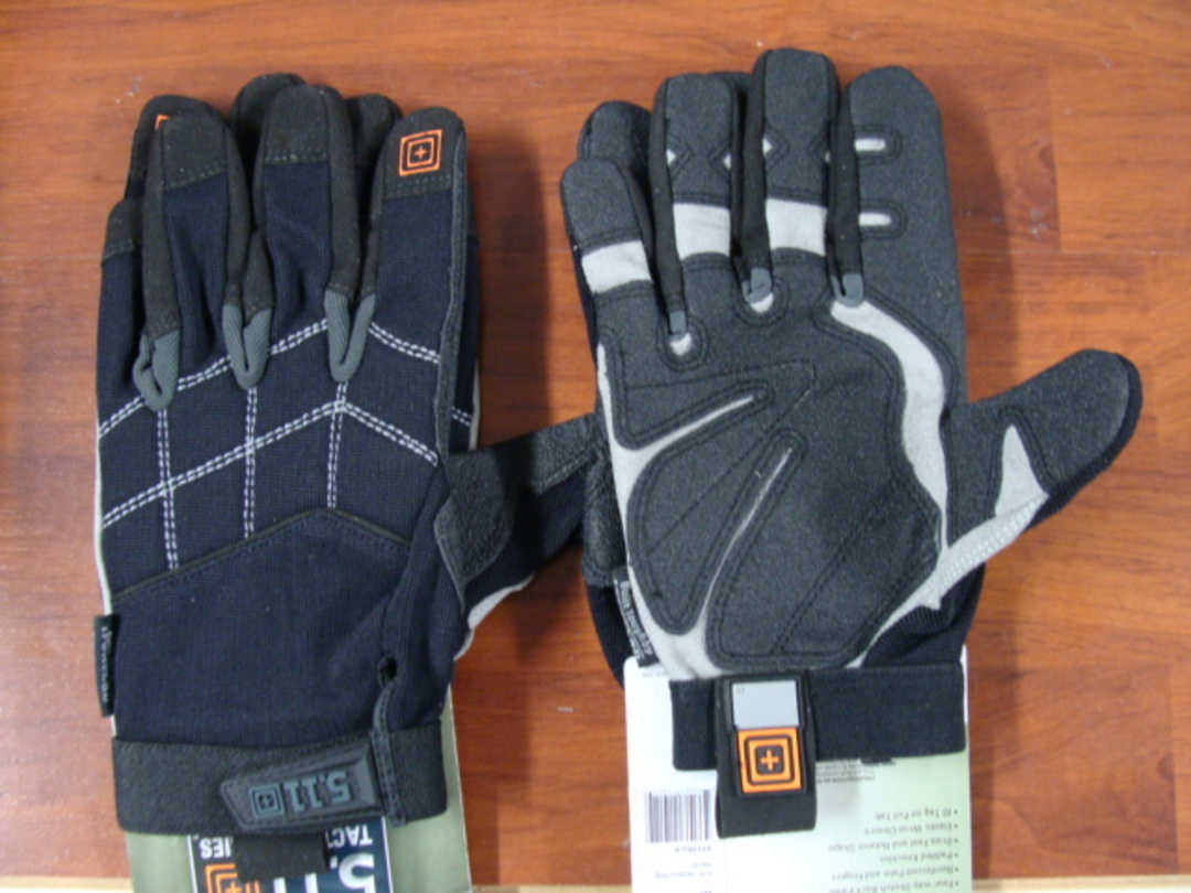 5.11 Tactical Station Grip Multi-Task Gloves, Black, X Large image 0