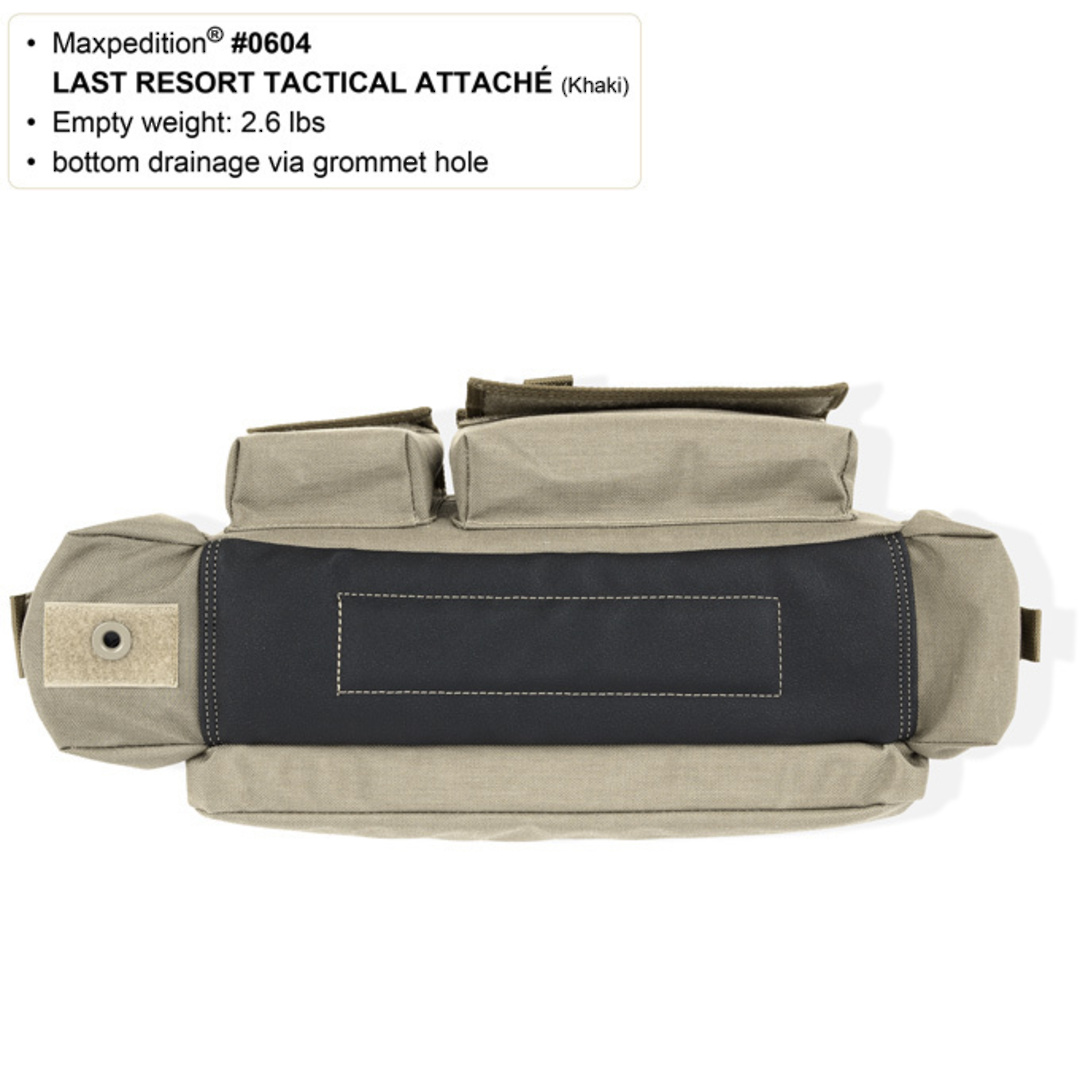 Maxpedition Last Resort Tactical Attache (Small) - Green image 4