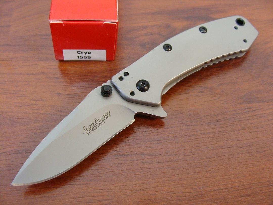Kershaw Cryo Hinderer Folding Knife image 0