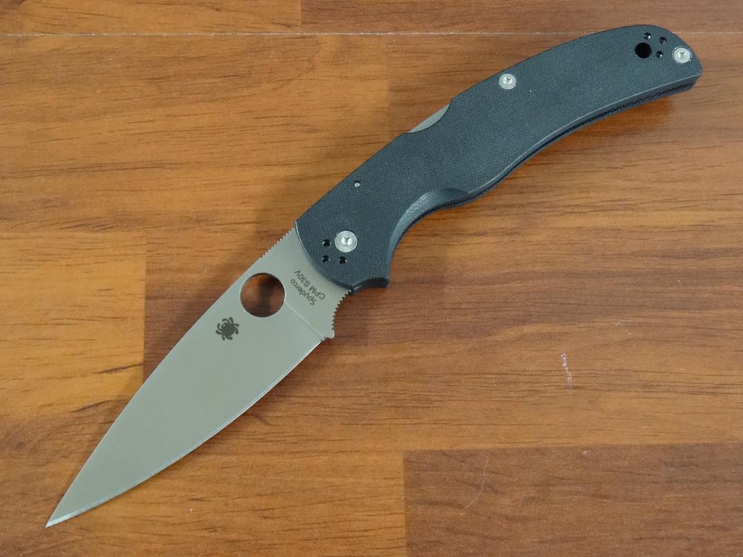Spyderco Native Chief Folding Knife S30V Blade, G10 Handles image 0