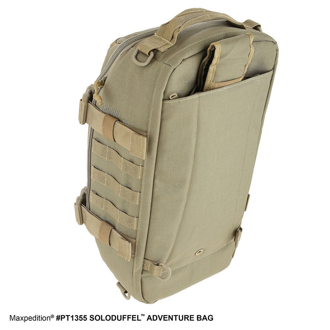 Maxpedition Soloduffe™ Adventure Bag - Khaki PT1355K image 3