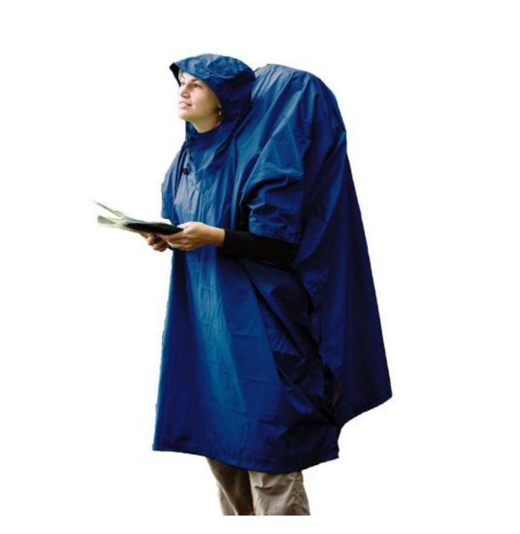 SEA TO SUMMIT NYLON WATERPROOF TARP PONCHO - Blue image 0