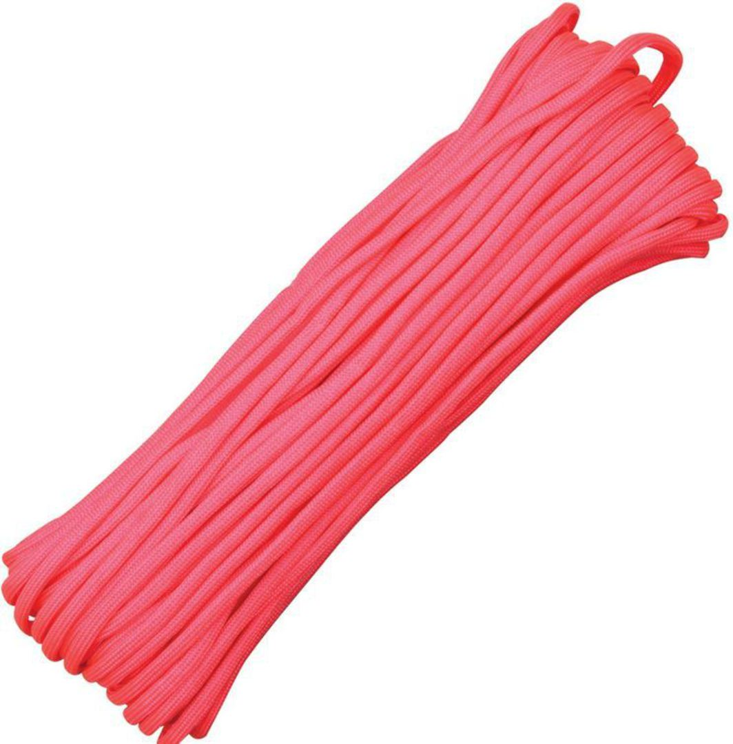 100ft 550 Parachute Cord/Paracord - Pink image 0
