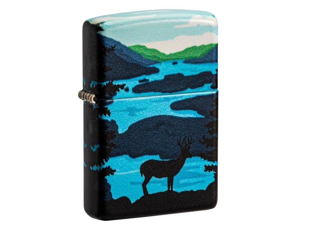 Zippo Deer Landscape Design Lighter image 0