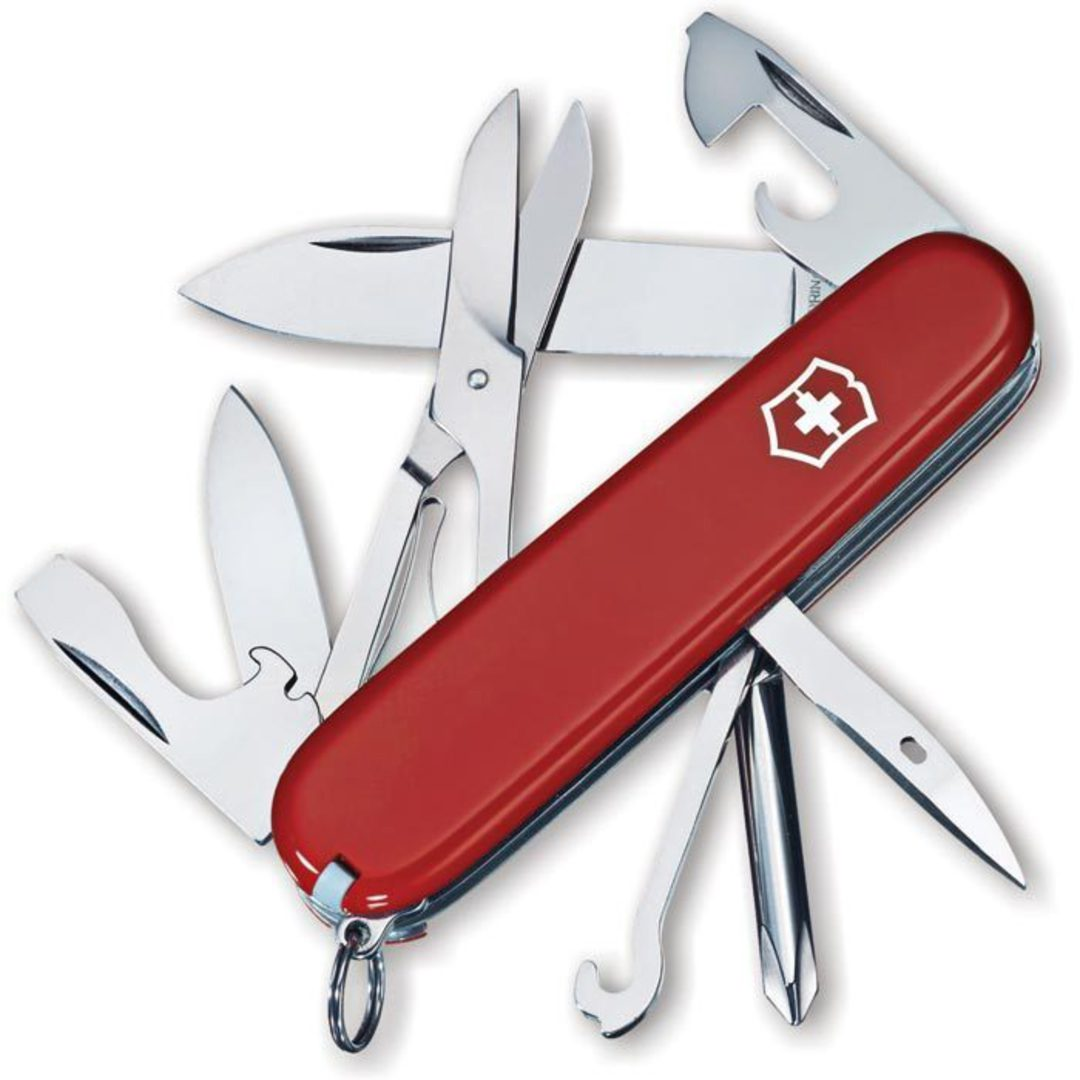 VICTORINOX SUPER TINKER SWISS ARMY KNIFE image 0