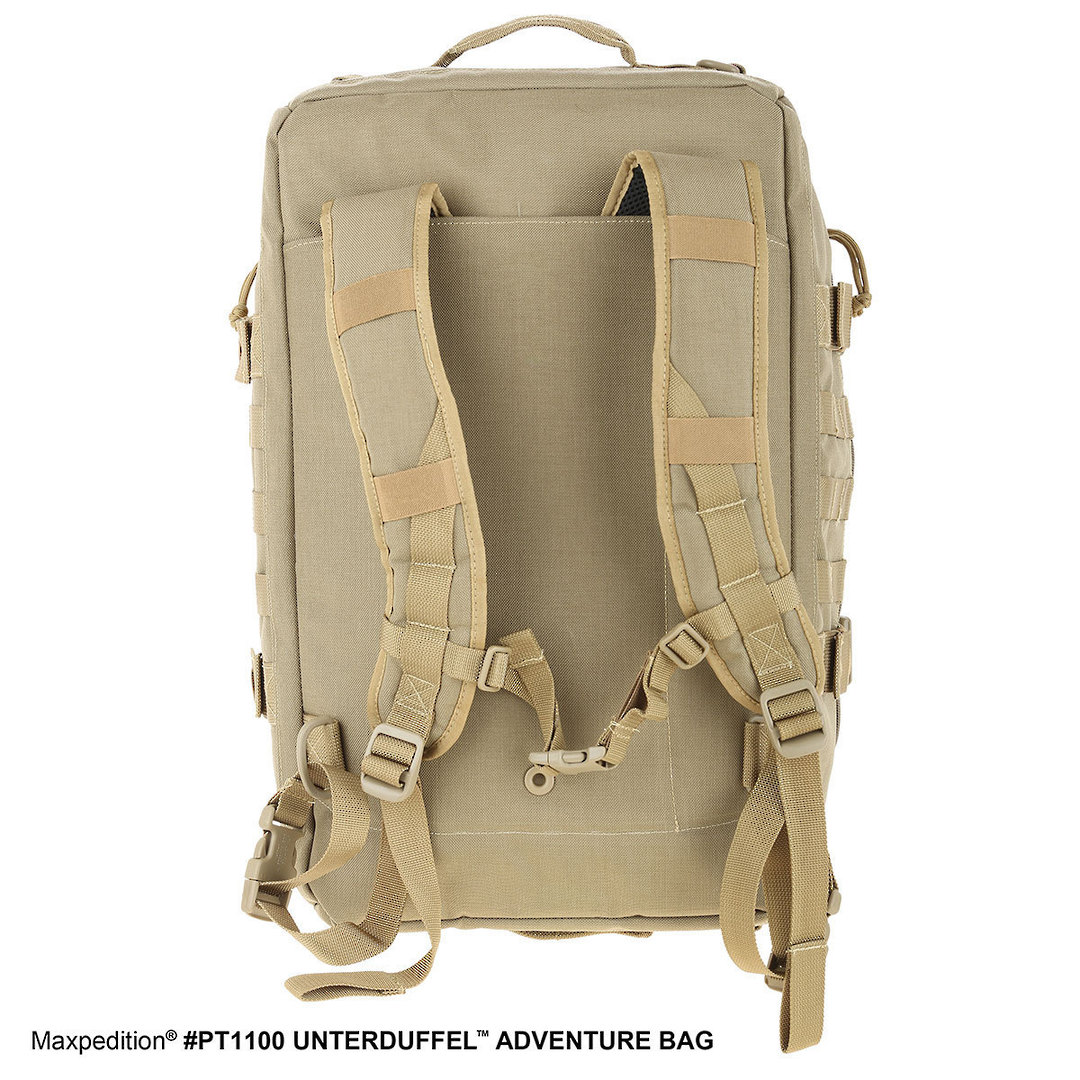 Maxpedition Unterduffel Adventure Bag - Khaki image 7