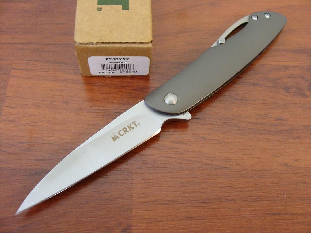 CRKT Onion Swindle Folding Knife image 0