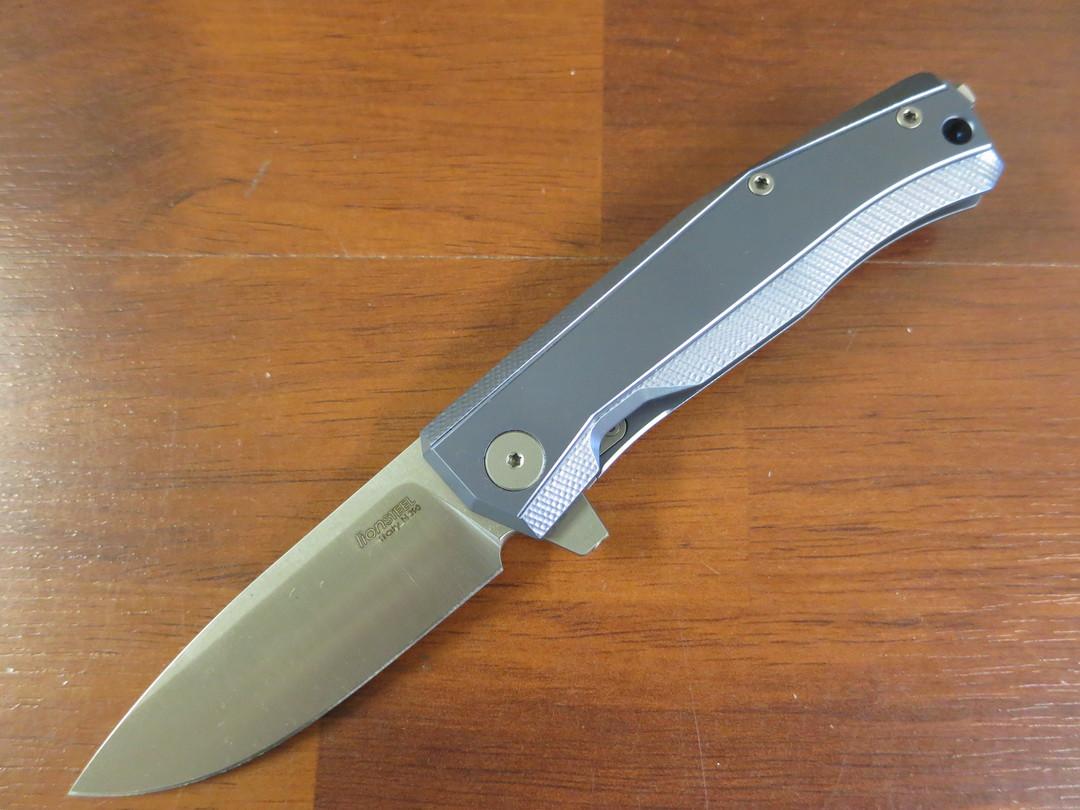 LionSteel Myto: hi-tech EDC folding knife for all everyday activities - Blue titanium image 0