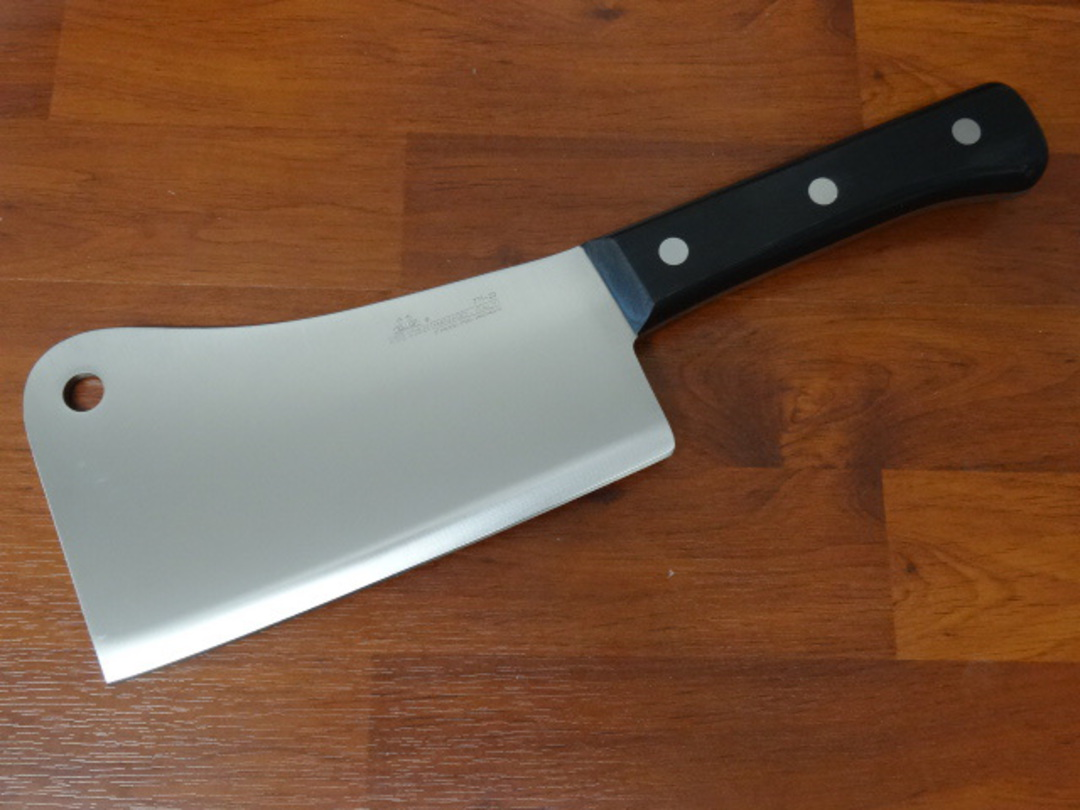 """Due Cigni  """"CLASSICA"""" full tang Chinese Cleaver 20cm 1250gr image 0"""