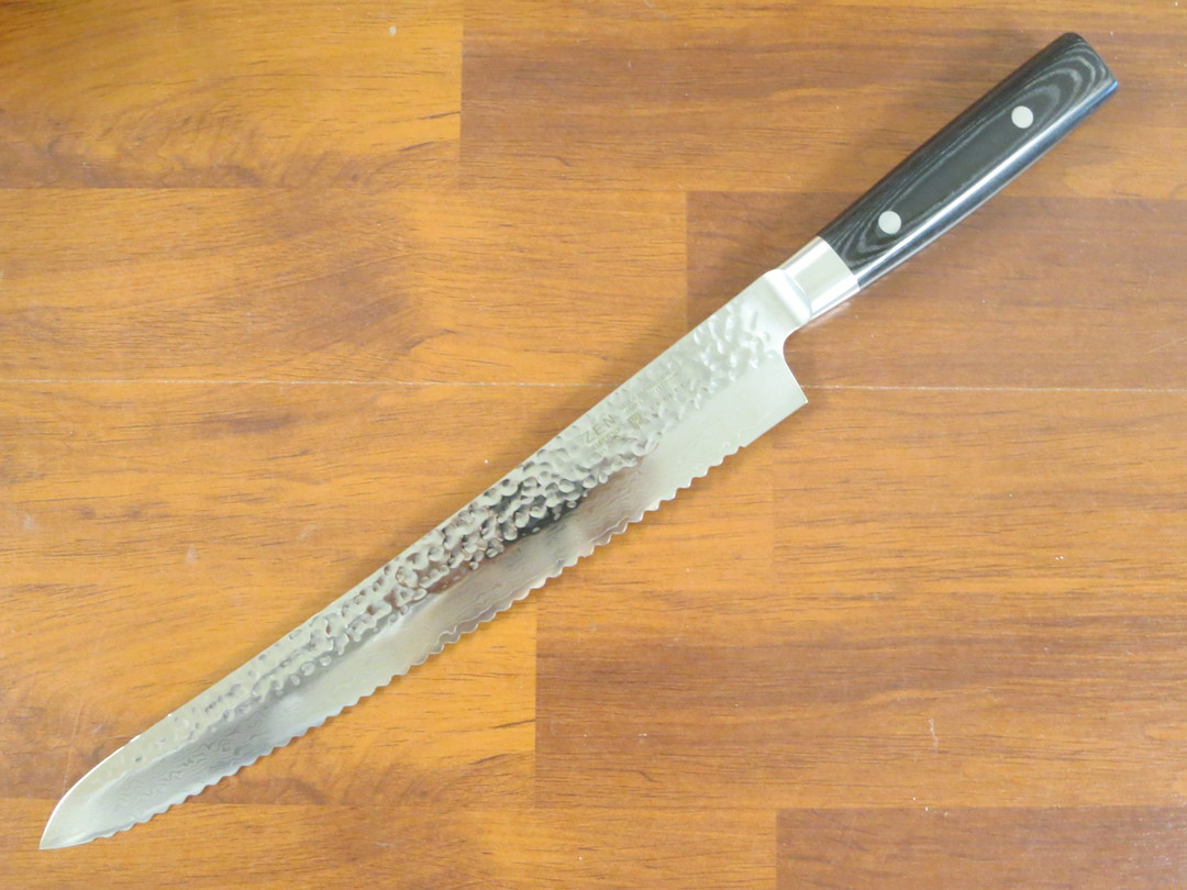 Zen Damascus VG-10 Japanese Bread Knife 270mm - 37 Layers image 0