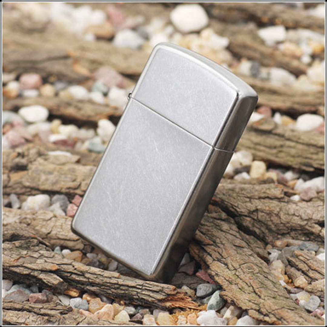 Zippo Slim Street Chrome Lighter image 0