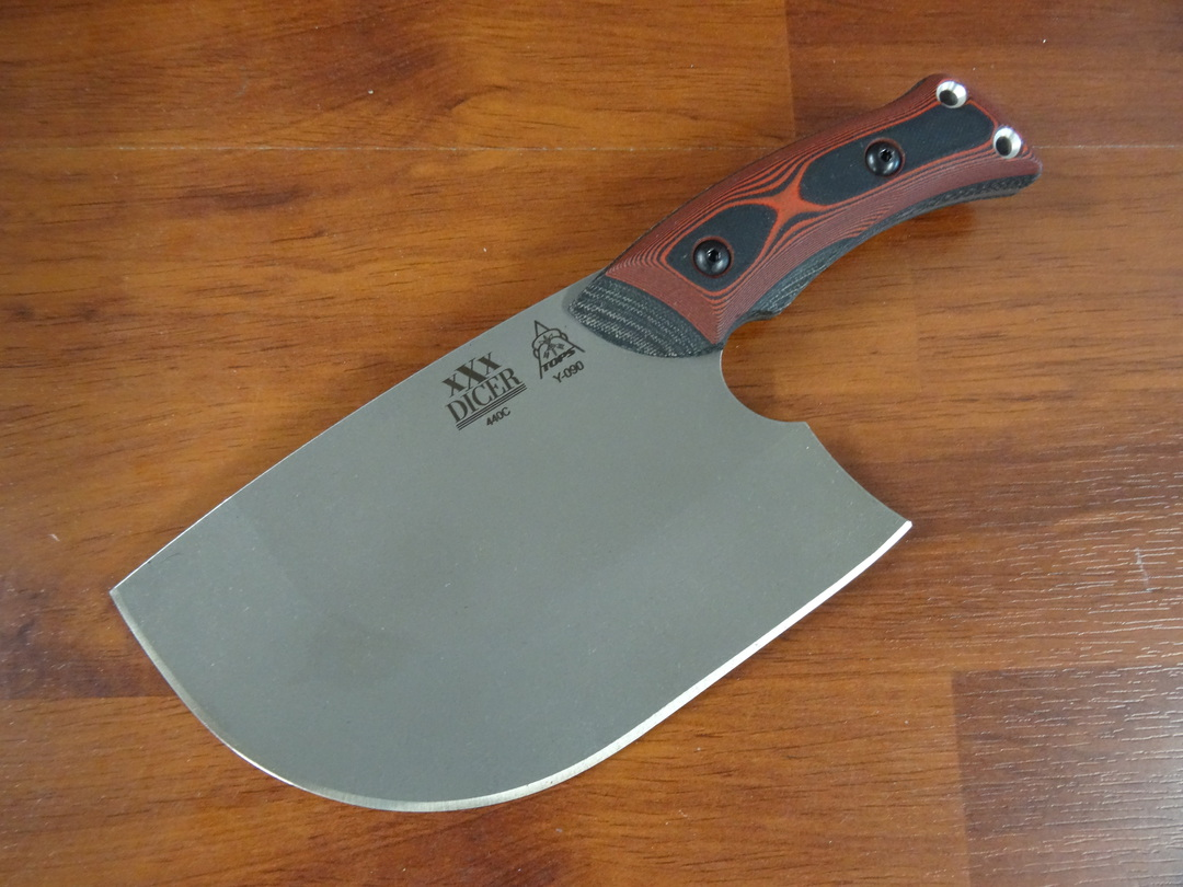 TOPS XXX Dicer Fixed Knife image 0