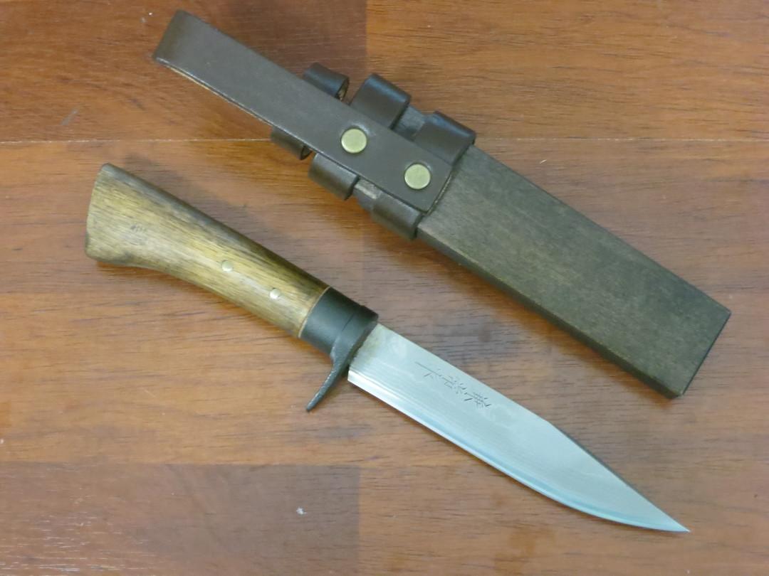 Kanetsune Enchou Japanese Damascus Knife KB447 image 1