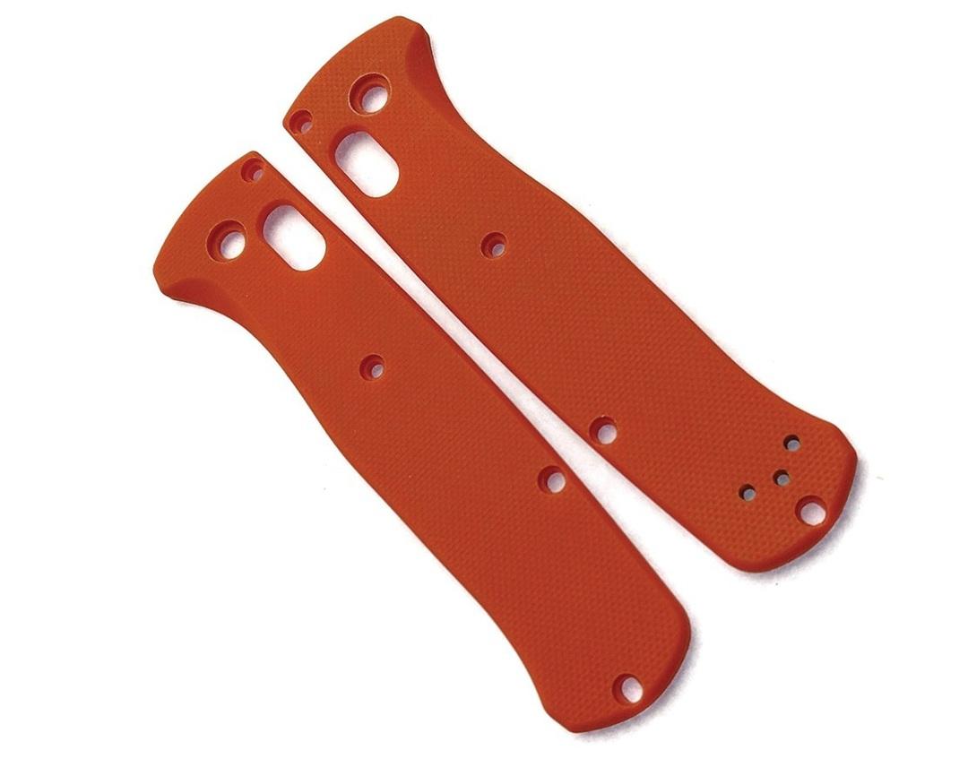 Flytanium Bugout Handle Scales Orange G10 image 0