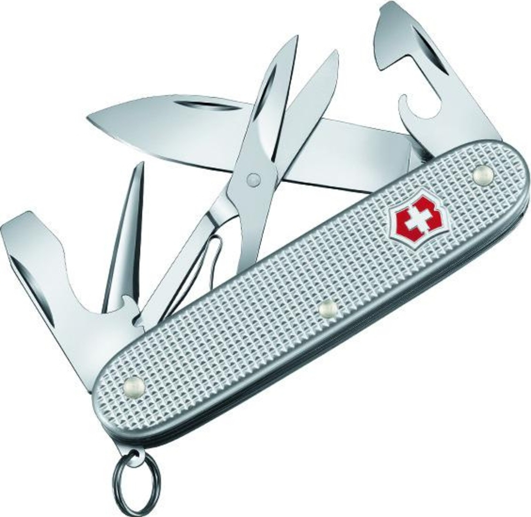 Victorinox Pioneer X Silver Alox Aluminum Swiss  Army Knife image 0
