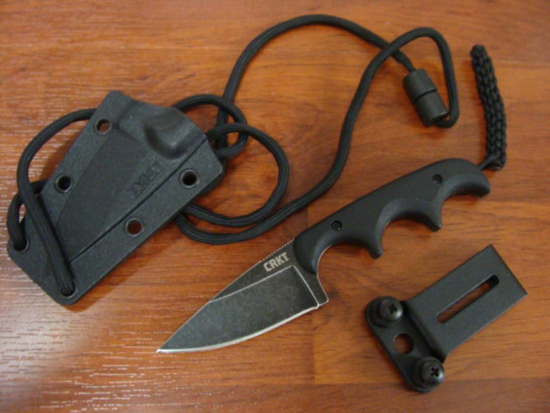CRKT Folts Minimalist Neck Knife 2384K image 0