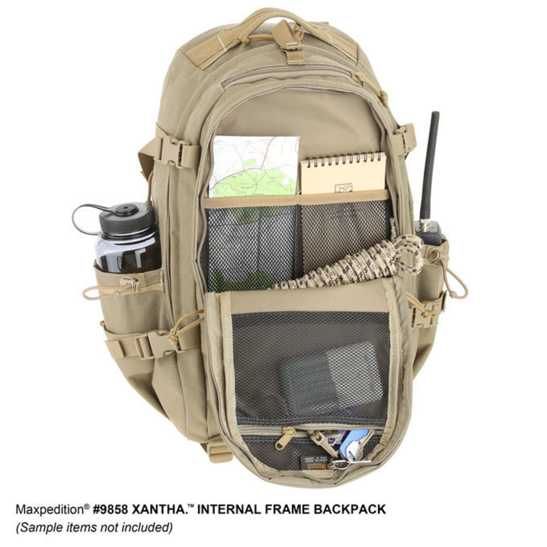 Maxpedition XANTHA INTERNAL FRAME BACKPACK (Large) - Khaki image 11