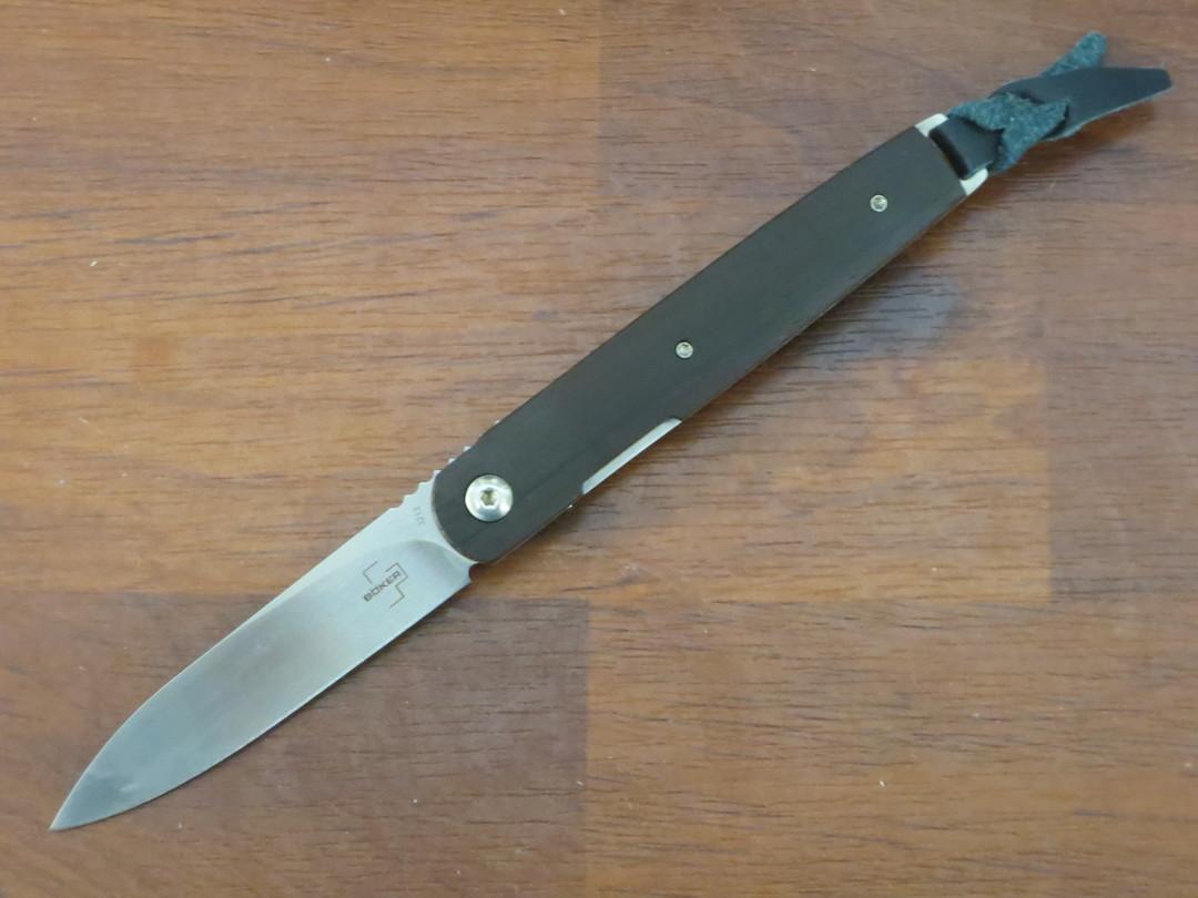 Boker Plus Kansei Matsuno LRF Front Flipper Knife, Cocobolo Handles - 01BO080 image 0