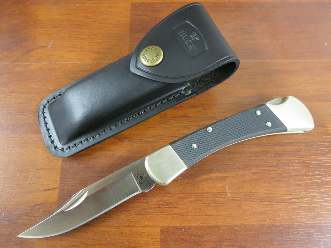 Buck 110 Pro Folding Hunter Knife S30V -110BKSNS1 image 0