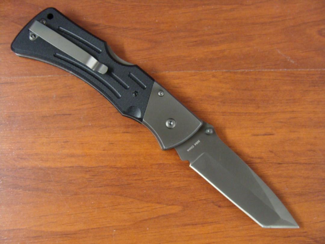 Ka-Bar G10 MULE Tanto Black Knife image 1