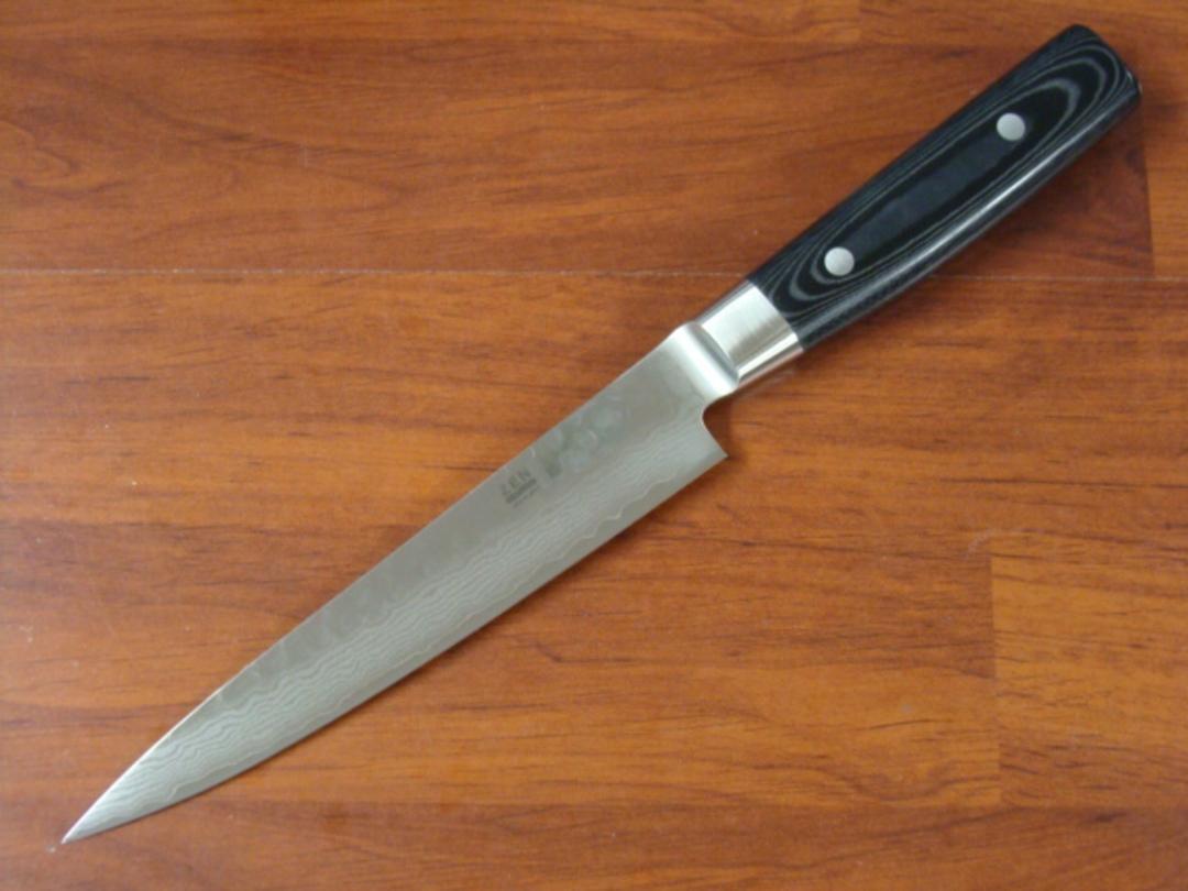 Zen Damascus VG-10 Japanese 7 Pce Block Knife Set - 37 Layers image 4