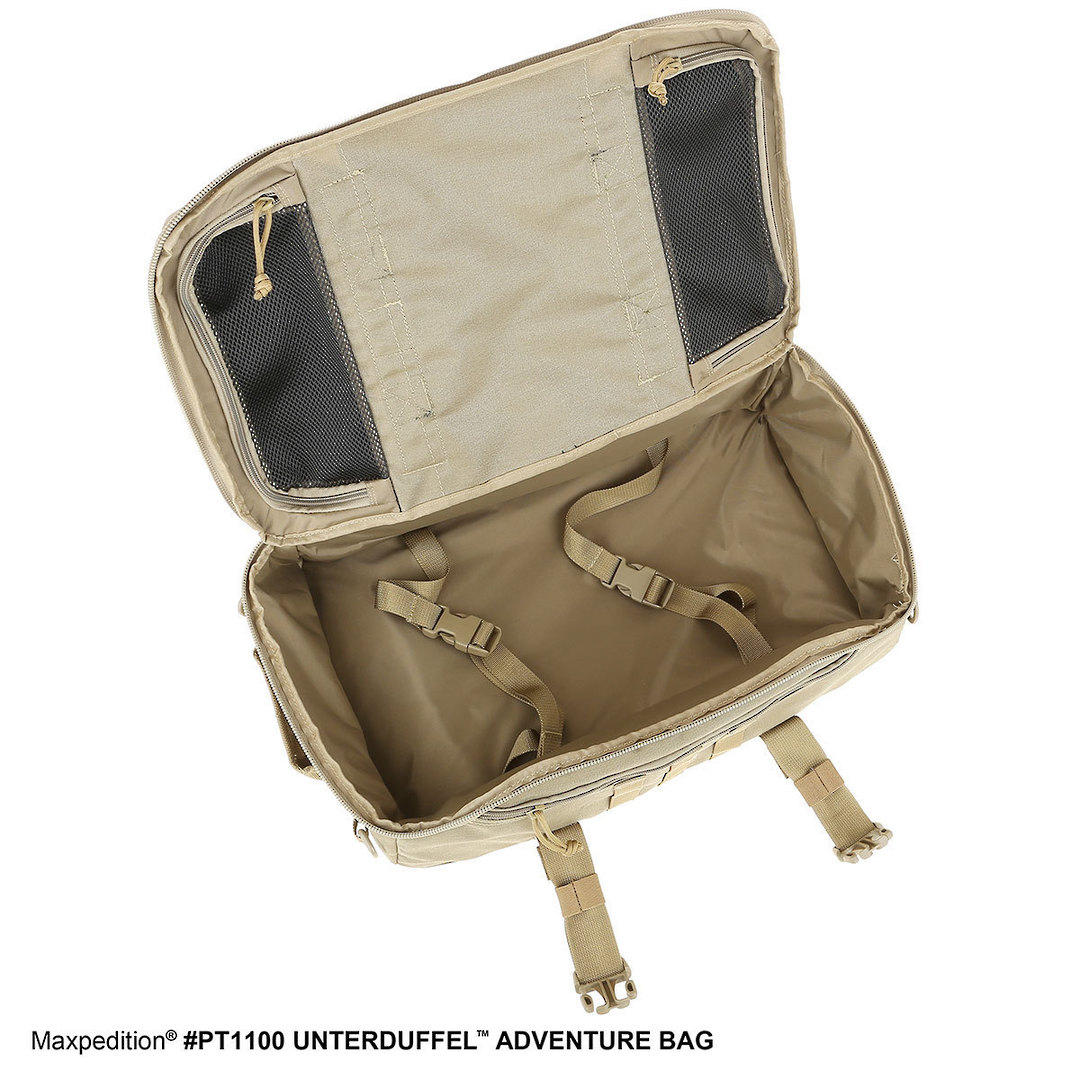 Maxpedition Unterduffel Adventure Bag - Khaki image 6