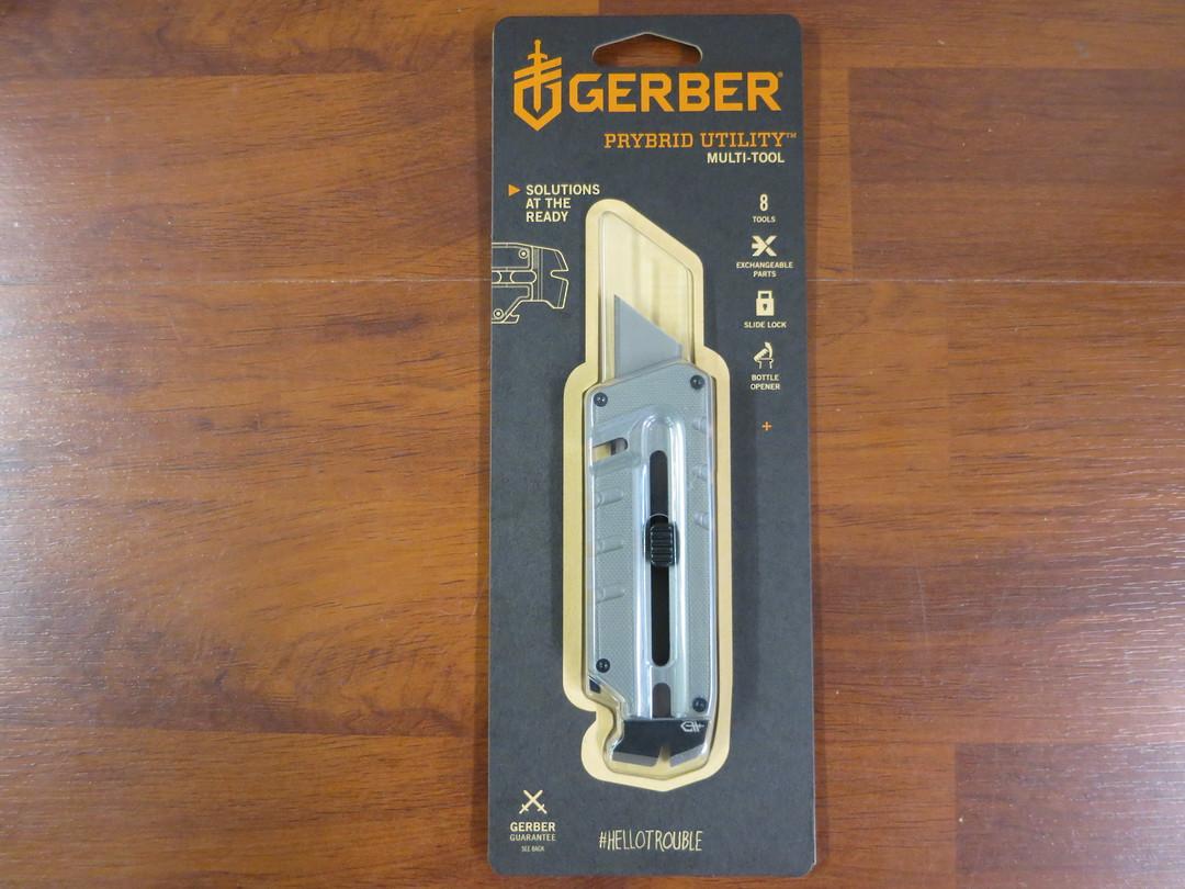 Gerber Prybrid Utility Multi-Function Tool, Grey G10 Handles - image 0
