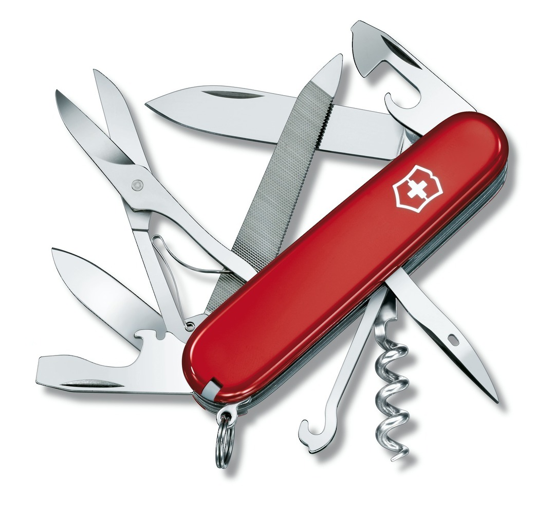 Victorinox Mountaineer Swiss Army Knife image 0