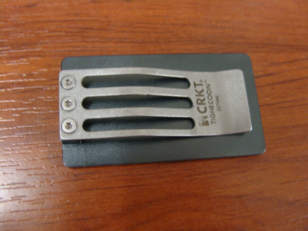 CRKT Tighe Coon Money Clip, Aluminum image 1