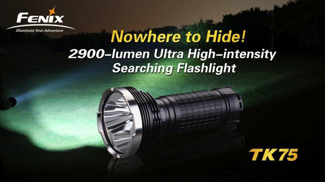 Fenix TK51 1800 Lumens Rechargable Torch image 1