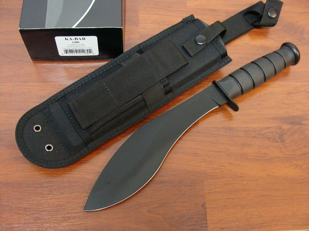Ka-Bar Combat Kukri Knife image 0