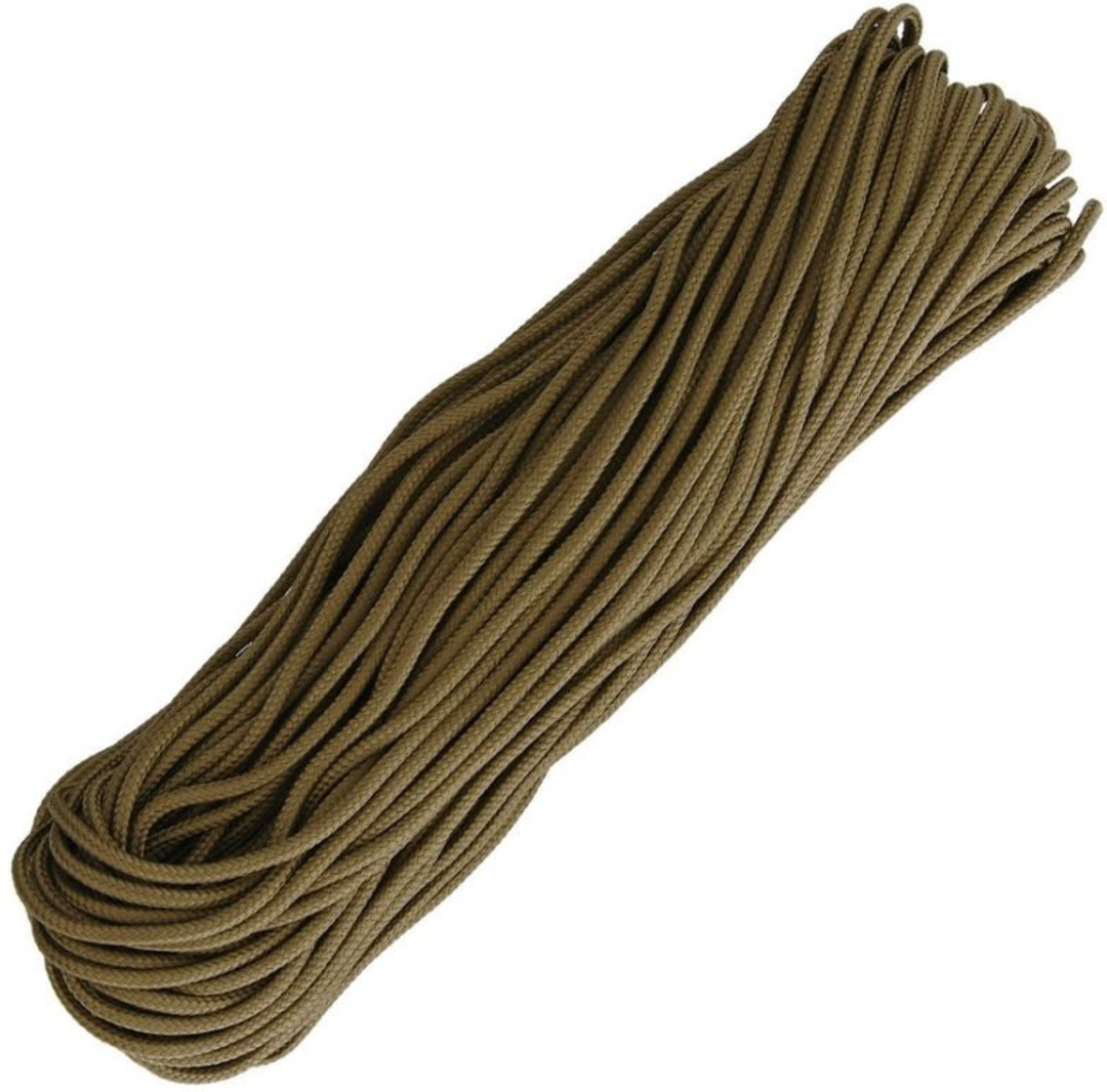 US Made 325 Paracord Coyote Brown image 0