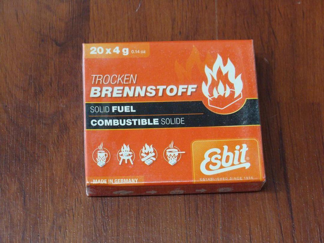 Esbit 4g Solid Fuel Tablets 20 Pack image 0