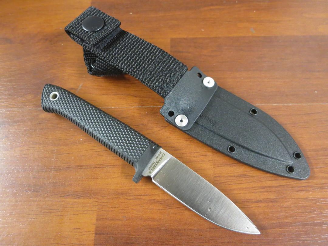 "Cold Steel Pendleton Mini Hunter 3"" AUS-10A Blade, Kray-Ex Handle, Secure-Ex Sheath image 1"