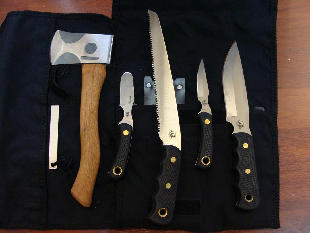 Knives of Alaska Super Pro-Pack/Bone Saw - 252FG image 0