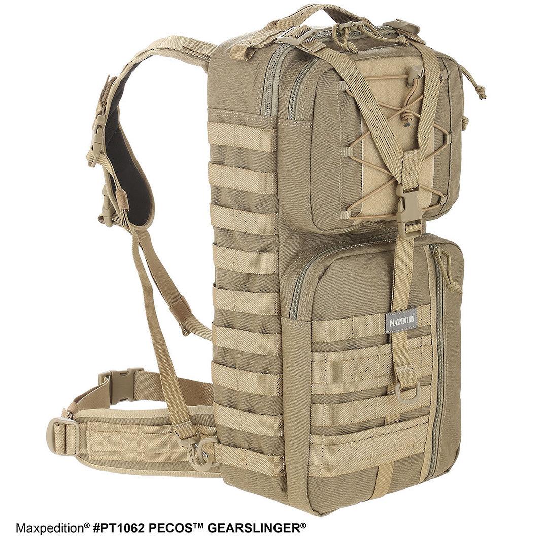 Maxpedition Pecos™ Gearslinger® - Khaki image 1